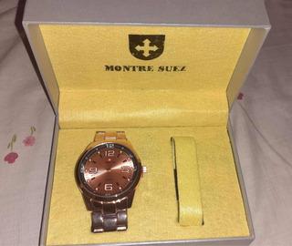 Reloj 100% Original Montre Suez Nuevo