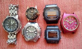 Relógio Potenzia, Aqua E Outros.