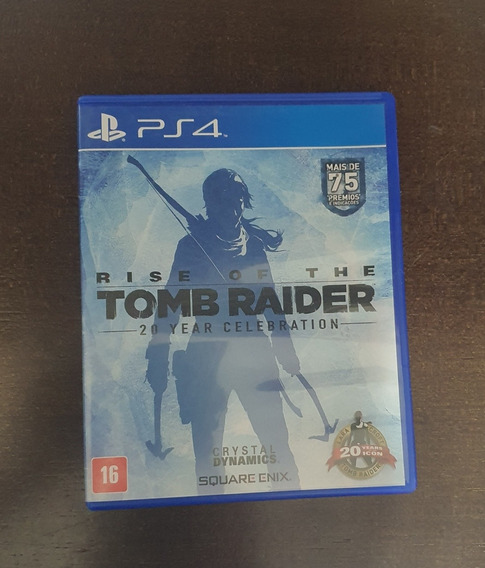 Rise Of The Tomb Raider - Ps4 - Mídia Física