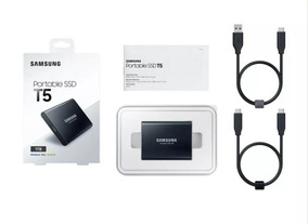Ssd T5 Samsung 1tb Portátil Externo Usb3.1