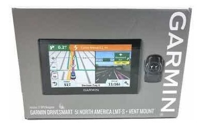 Gps Garmin Drivesmart 51 Lmt-s Suporte De Ventilação Voz