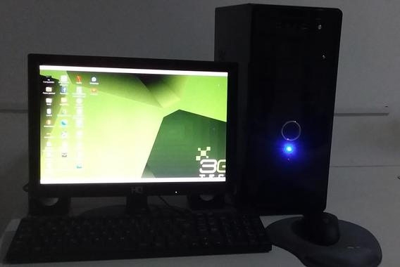 Computador Pc 3 Green Intel Dual Core 4gb500 Gb Linux Mi5