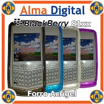 2x1 Forro Acrigel Blackberry Pearl 8110 8120 8130 Manguera
