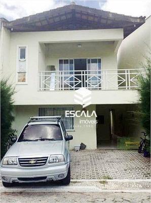 Casa Com 3 Quartos À Venda, 143 M², Área De Lazer, 3 Vagas, Financia - Guaribas - Eusébio/ce - Ca0225