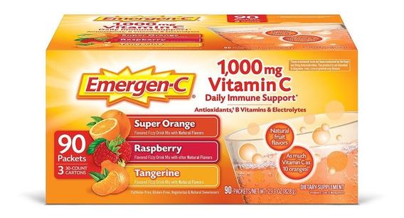Emergen-c Bebida Dietética Con Vitamina C, Pack Variado
