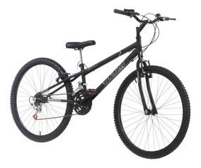 Bicicleta Rebaixada Aro 26 18 Marchas Preta Pro Tork Ultra