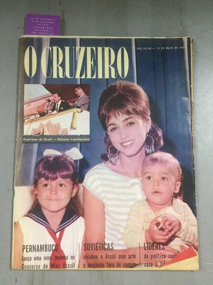 Revista O Cruzeiro 19 De Maio 1962 Miss Pernambuco