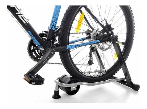 Imagem 1 de 4 de Rolo De Treino Dobrável Para Bicicleta Al 200 C/ Nota Fiscal