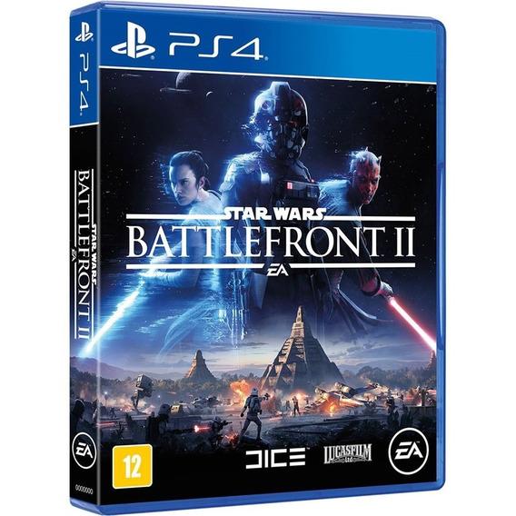 Star Wars Battlefront 2 Ps4 Midia Fisica Lacrado Dublado Br