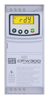 Inversor De Frequência Cfw300 1cv 220v 4,2a Mono/tri Weg