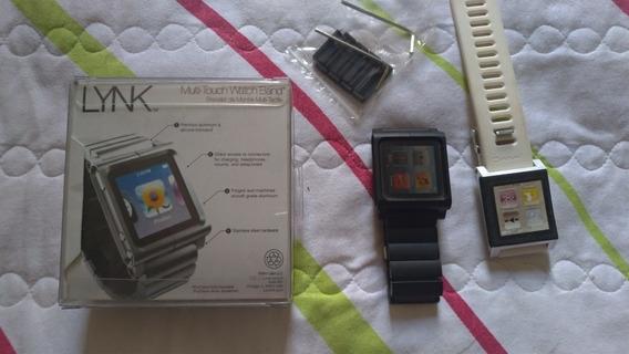 Relógio Apple iPod Nano 6 - 2 Pulseira Lunatik 16gb Funciona