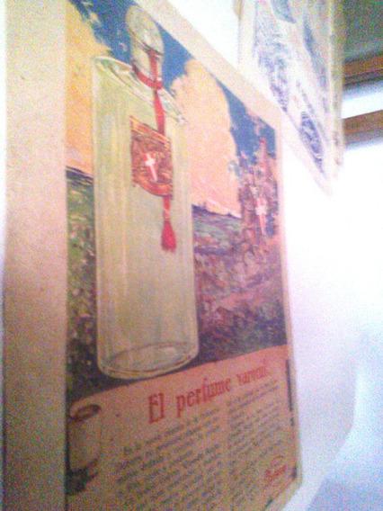 Antigua Publicidad Locion Colonia Conde Rojo - Dubarry 1920s