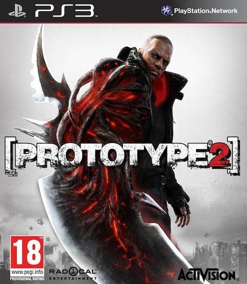 Jogo Prototype 2 Ps3 Playstation 3 Mídia Física Frete Grátis
