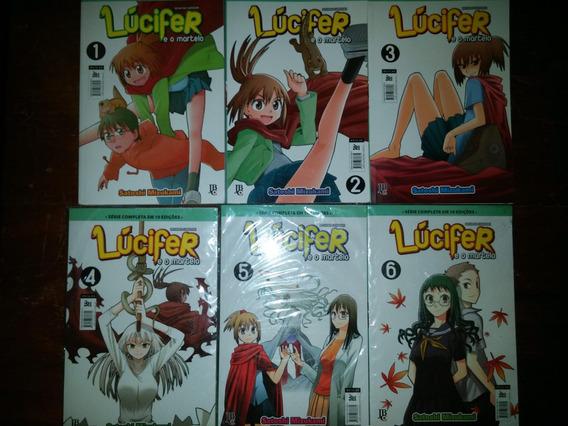 O Lúcifer E O Martelo - Vol 1 Ao 6 (3 Vol Lacrados)