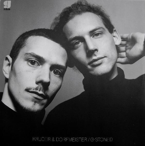 Kruder & Dorfmeister - G Stoned, Cd Maxi Single Original