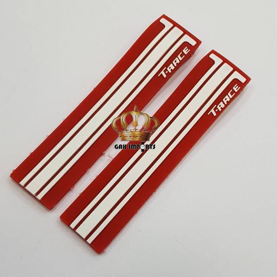 Pulseira Para Relógio Tissot Moto Gp Vermelha E Branca