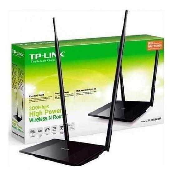 Roteador Tp Link Tl - Wr841hp 300mbps - 2 Antenas