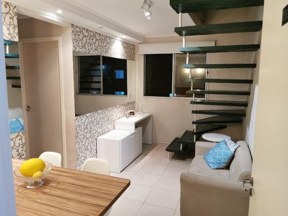 Apartamento Cobertura Duplex Em Suzano