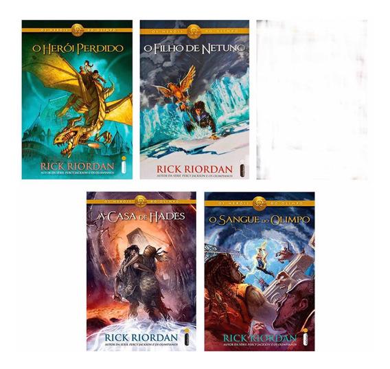 Coleção Heróis Do Olimpo- Livro 1,24,5-rick Riordan