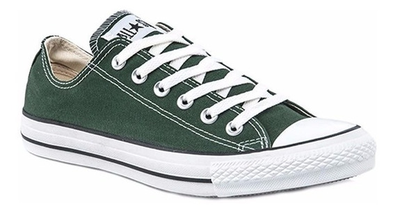 Converse Chuck Taylor All Star Ox Verde Lona 164744c