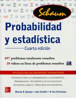 Probabilidad Y Estadistica. Serie Schaum