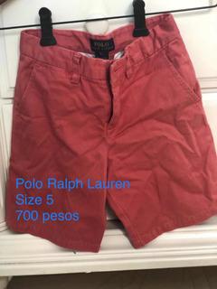 Bermuda Polo Ralph Lauren - Niños - Color Guayaba