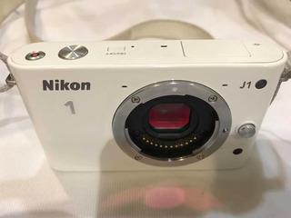 Cámara Nikon J1 Cuerpo Y Pila Sii, Sin Lente Ni Cargador