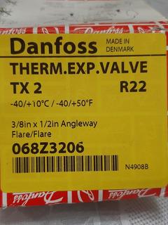 Valvula De Expansion R22 Tx2 Danfoss