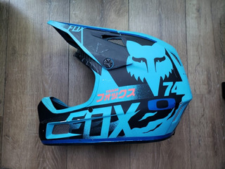 Capacete Fox Rampage Bike Enduro Downhill. À Vista 1000,