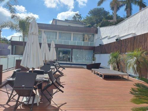 Casa Para Alugar, 690 M² Por R$ 15.000,00/mês - Parque Ix De Julho - São Roque/sp - Ca0155