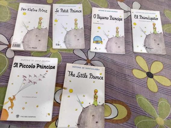 Coleção Pequeno Príncipe Em 6 Idiomas