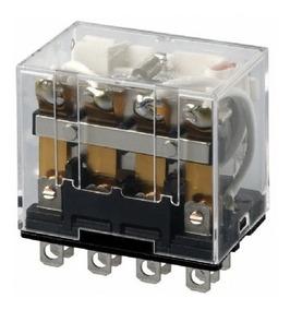 Relé Eletromecânico 4na + 4nf 24v 10a Ly4n Dc24 Omron