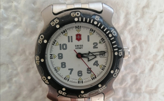 Reloj Victorinox Swiss Army Cuarzo Vintage Todo Original