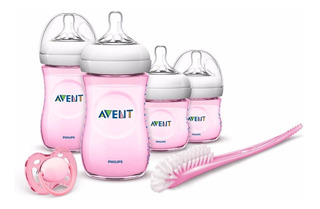 Set Natural Para Recien Nacidos Rosa Philips Avent Scd290/03