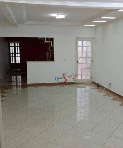 Imagem 1 de 30 de Sobrado Com 4 Dormitórios À Venda, 300 M² Por R$ 800.000,00 - Vila Santa Clara - São Paulo/sp - So0525