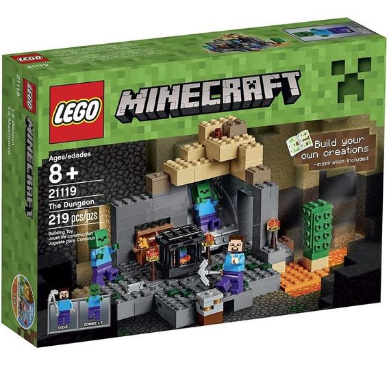 Lego Minecraft 21119 Original