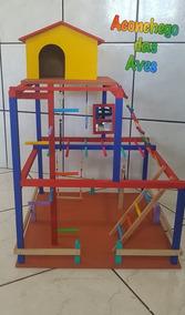 Playgroud Parquinhos Para Calopsitas(mod.2)