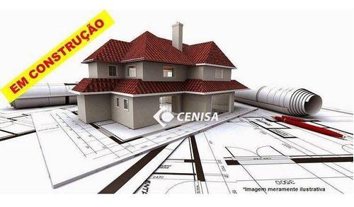 Imagem 1 de 21 de Linda Casa Condomínio Fechado Em Construção. 150m2 De Terreno, 105m2 De Construção - Ca2663