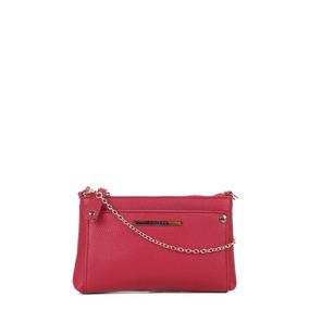 Bolsa Colcci Mini Bag Tiracolo Alça Corrente Feminina - Verm