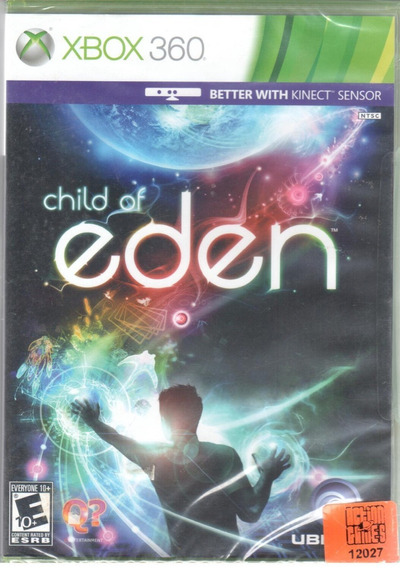 Child Of Eden Xbox 360 Mídia Física Lacrado