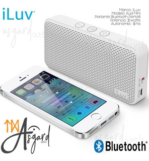 Parlante Bluetooth Iluv Aud Mini Slim Ios Android 12 Cuotas