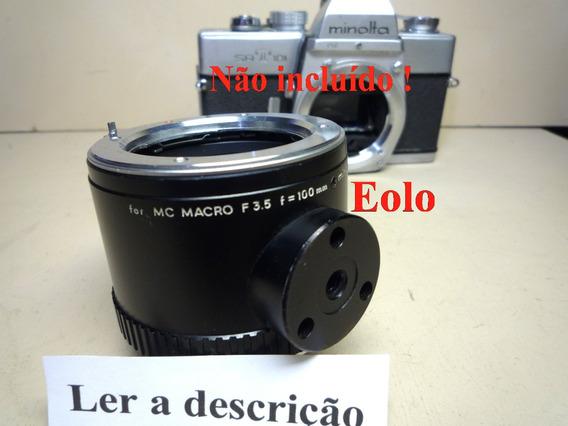 Minolta Analogica - Tubo Macro Automático P; Obj Mc #