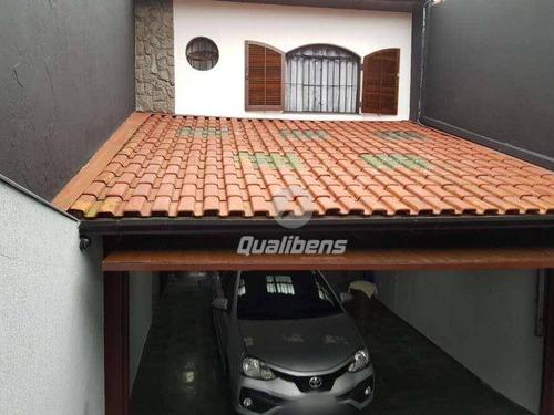 Imagem 1 de 16 de Sobrado Com 3 Dormitórios À Venda, 178 M² Por R$ 550.000,00 - Jardim Guapituba - Mauá/sp - So0004
