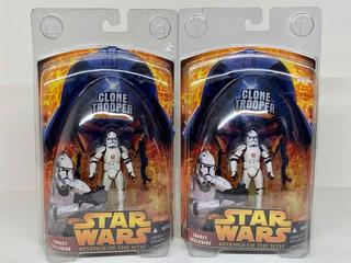 Star Wars Clone Trooper Target Exclusive Paquete D 2 Pieza