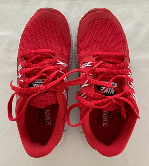 Zapatillas Gym Coloradas. Talle 35.5 (us 5)