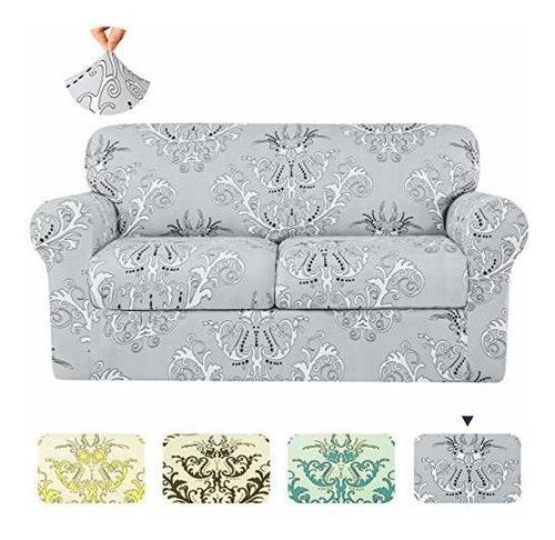 Fundas Elastica Sofa 3pcs Licra Protector Muebles Pequeño