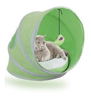 Pawise Gato Cama De La Tienda Popup Gato De Mascota Casa Tie