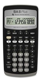 Calculadora Cientifica Financiera Texas Instruments Ba Ii