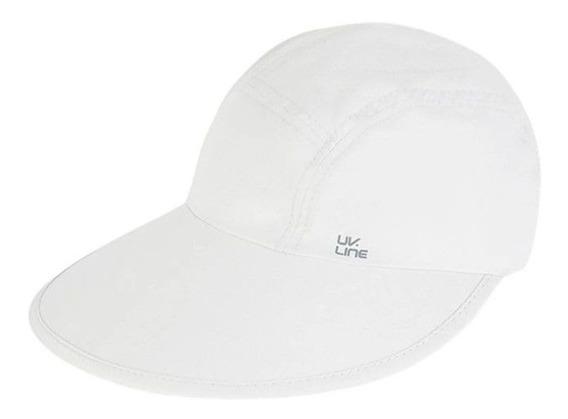 Uv Line Viseira Capri Colors Feminina Proteção Solar 12x