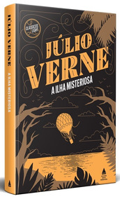 A Ilha Misteriosa Capa Dura Livro Júlio Verne Frete 15
